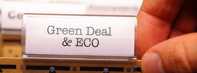 information on green deal and eco schemes